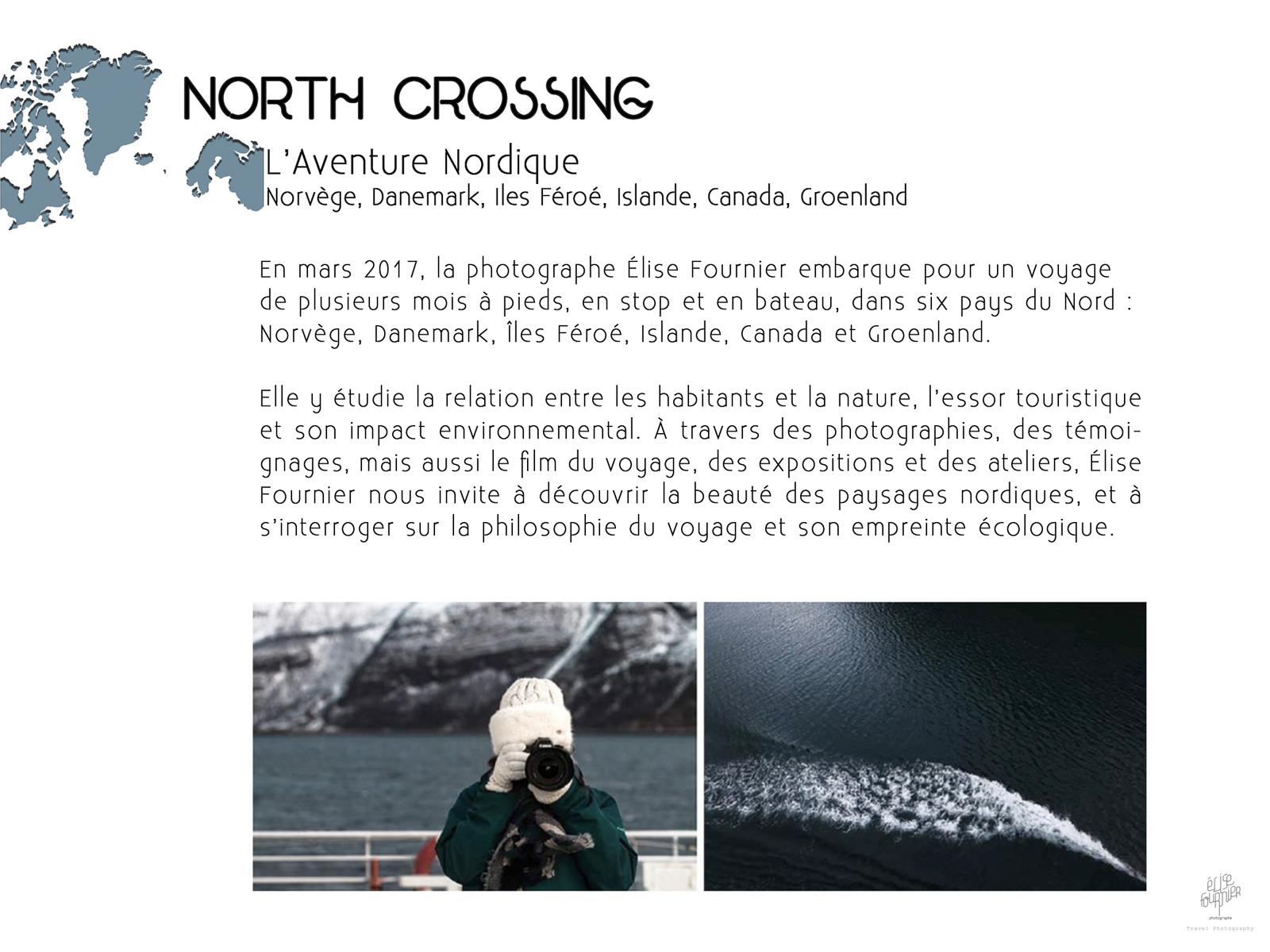 North Crossing reportage photographique par Elise Fournier Photographe