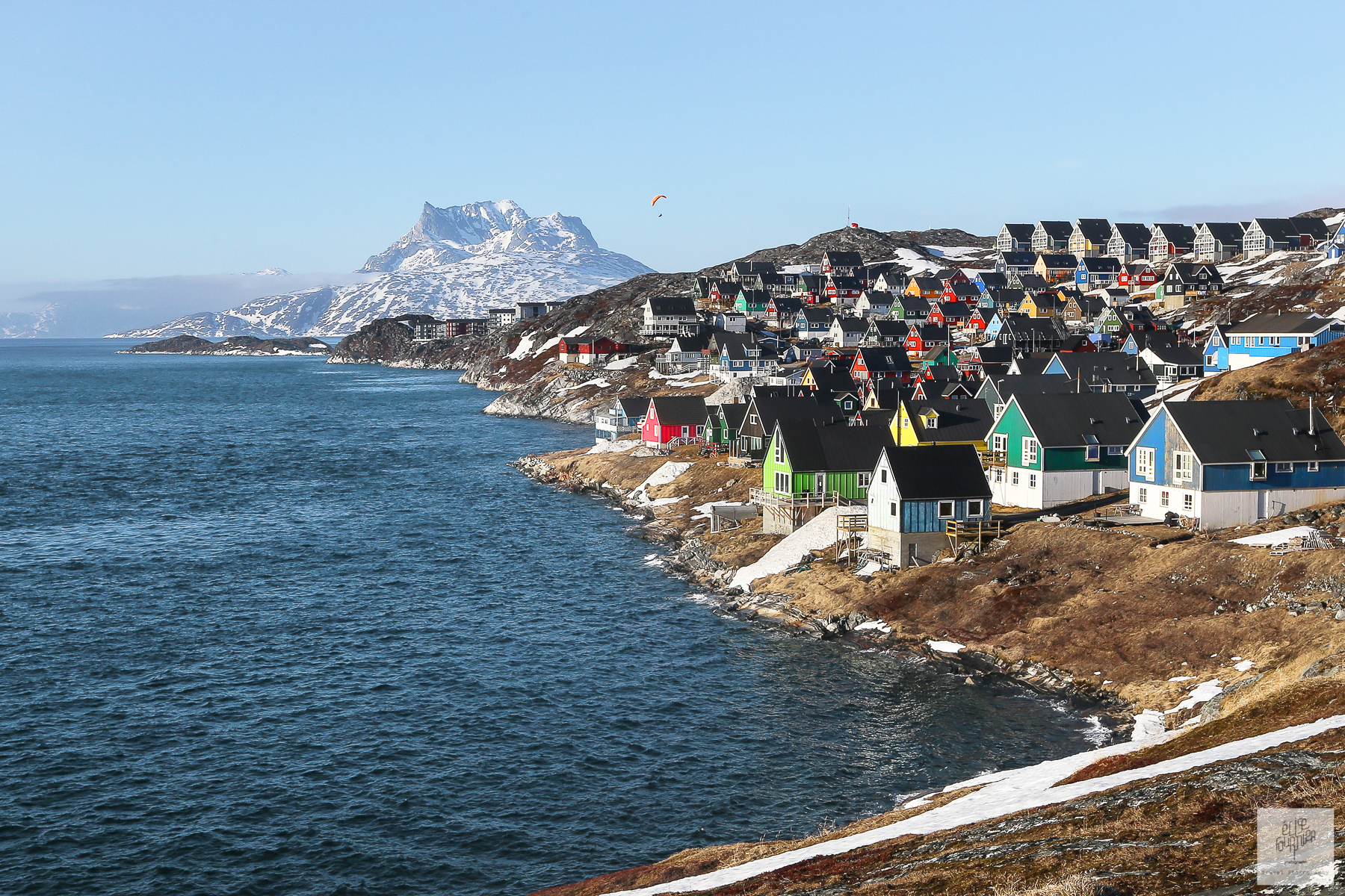 North Crossing reportage photographique par Elise Fournier Photographe - Groenland