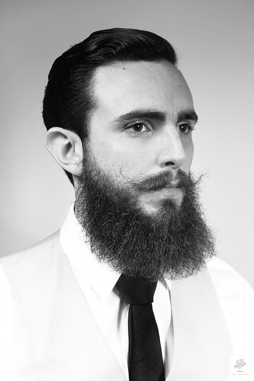 Salon barbier Monsieur - photographe Elise Fournier - Nantes et Bretagne