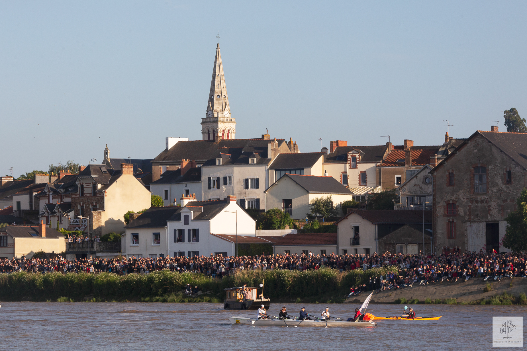 Photographie Débord de Loire à Nantes par Elise Fournier photographe