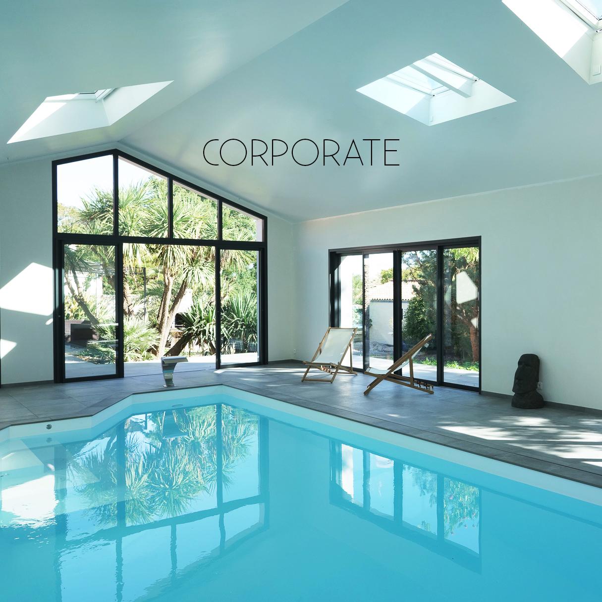 Photographe entreprise et corporate - piscine et hotel - Elise Fournier Photographe